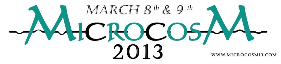 Microcosm 2013 - Tech Fest at MGIT in Hyderabad on March 8-9, 2013