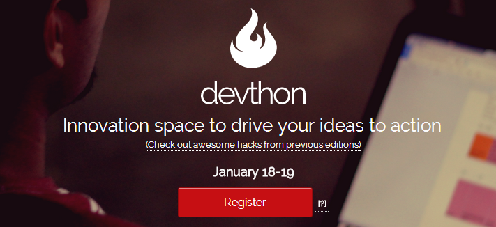 Devthon 0.7 - New Year Edition in Hyderabad from January 18-19, 2014