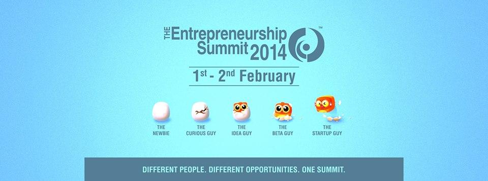 Entrepreneurship Summit 2014 - IIT Bombay from February 1-2, 2014