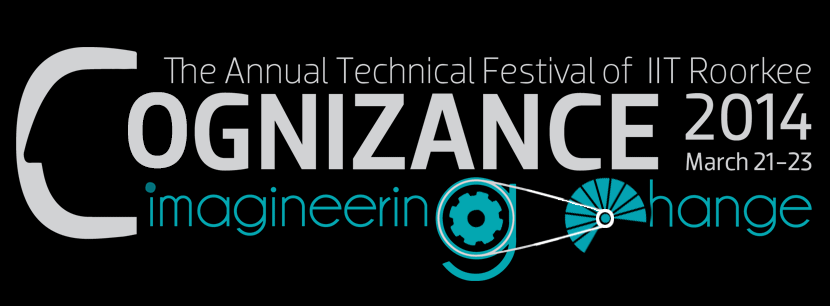 Cognizance 2014 - Tech Fest of IIT Roorkee from March 21-23, 2014