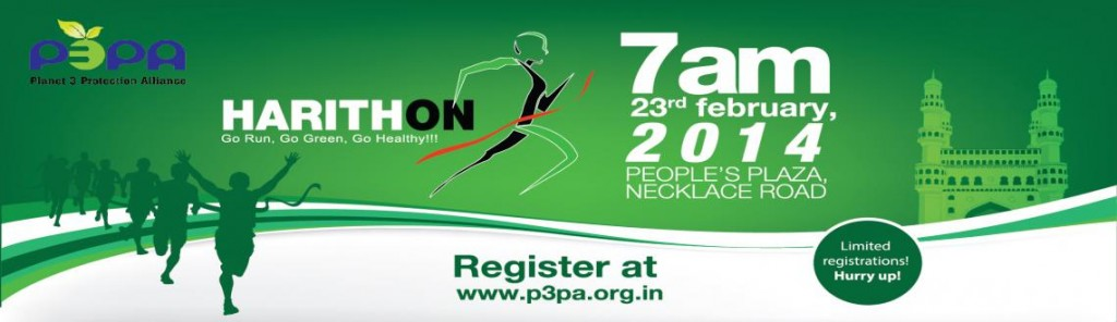 Harithon 2014 - The Green Run in Hyderabad on February 23, 2014