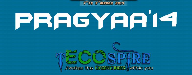 Pragyaa 2014 - Technical Fiesta in Maharashtra from March 7-9, 2014