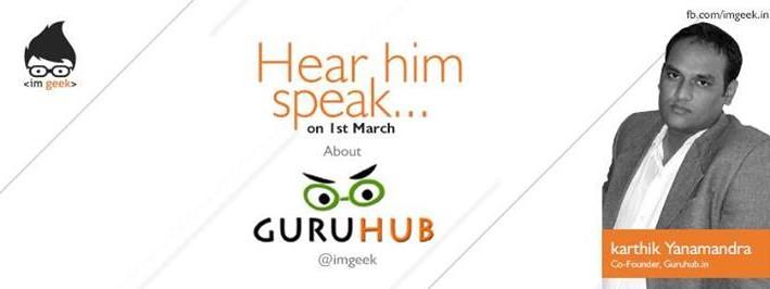 Karthik Yanamandra at IMGeek Event