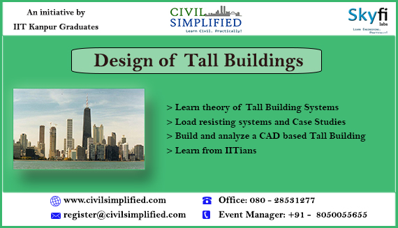 Tall Building Designing Workshop in Bangalore on March 8, 2014