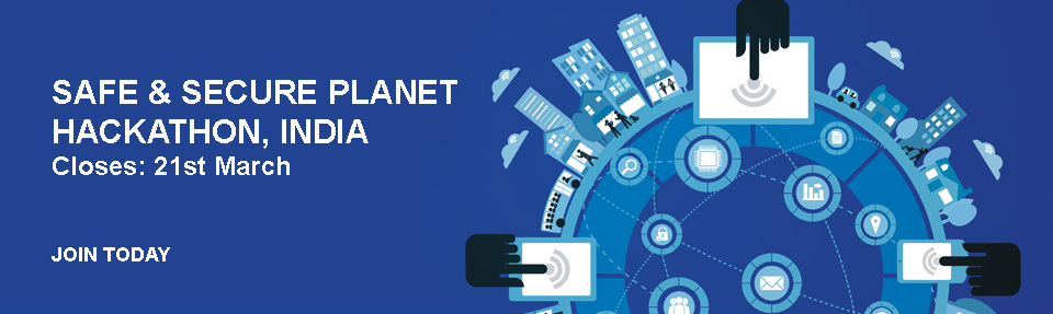 Safe & Secure Planet Hackathon in Hyderabad from March 22-23, 2014
