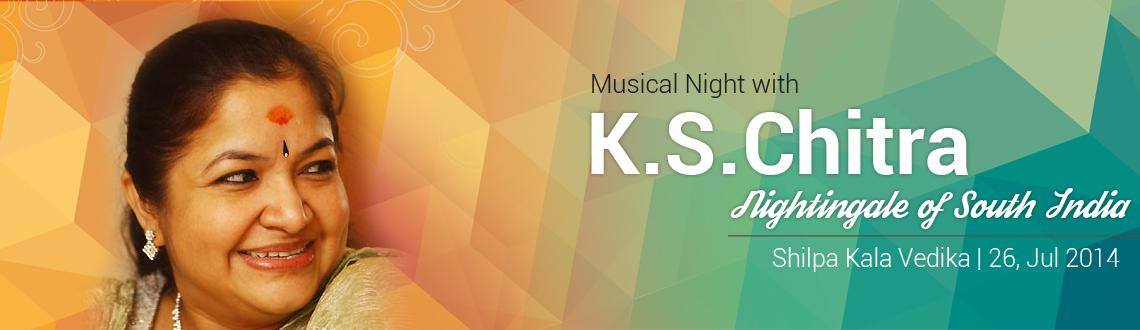 Musical Night with Chitra in Hyderabad on July 26, 2014
