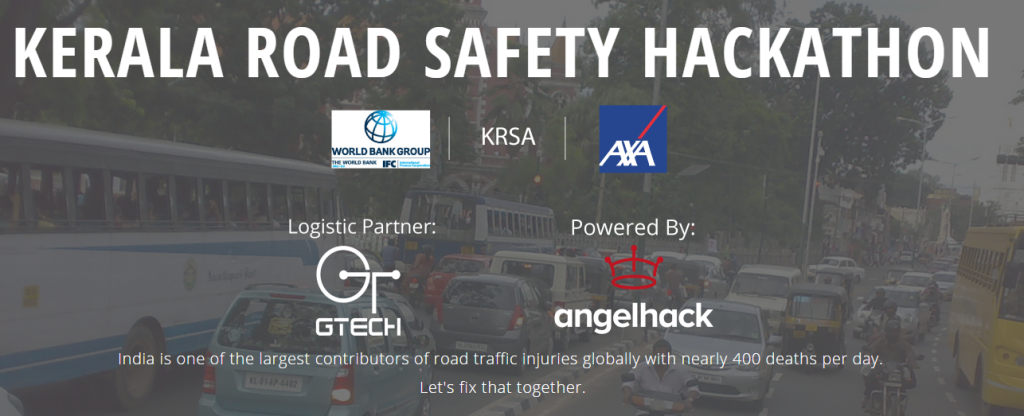Kerala Road Safety Hackathon from August 22-23, 2015