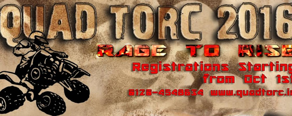 Quad Torc 2016 - Competition in Greater Noida