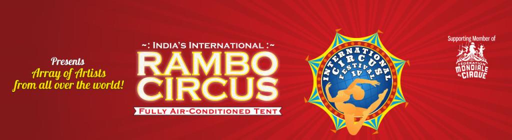 Rambo Circus in Bandra, Mumbai from November 9 - December 20, 2015