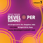 The Great Indian Developer Summit in Bangalore from April 26-29, 2016