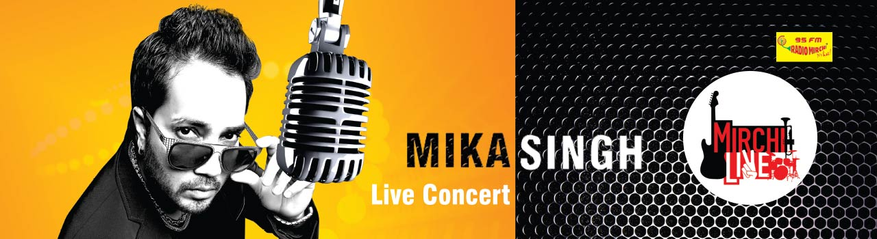 Mika Singh with Mirchi Live in Concert in Hyderabad on July 2, 2016