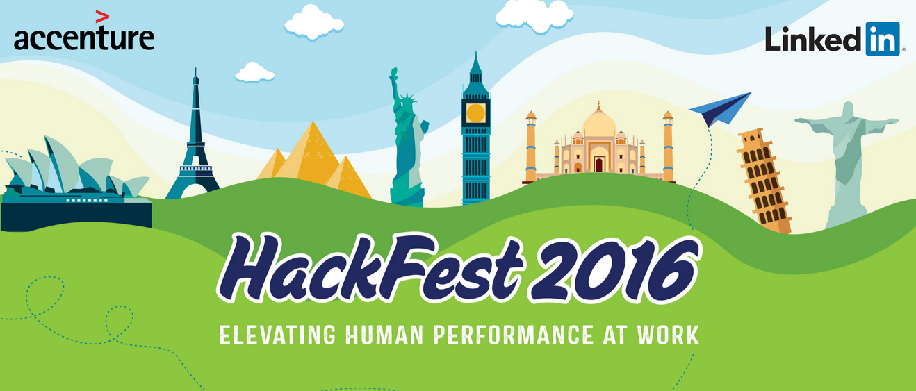 HackFest 2016 - Hackathon by Accenture and LinkedIn in Bangalore from September 24-25, 2016