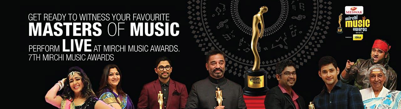 Mirchi Music Awards in Hyderabad on July 27, 2016