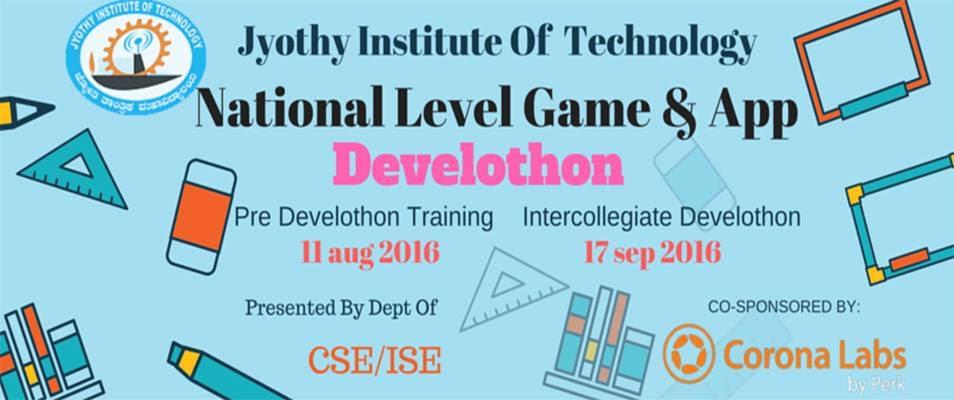 Pre Develothon 2016 - Tech Event in Bengaluru on August 11, 2016