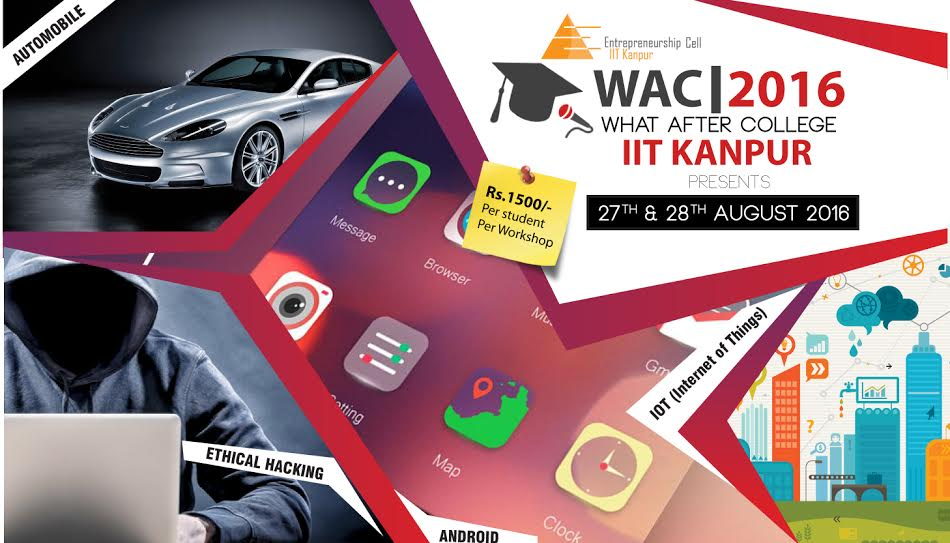 WAC 2016 at IIT Kanpur from August 27-28, 2016