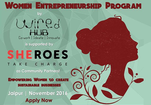 Women Entrepreneurship Program in Jaipur on November 10, 2016