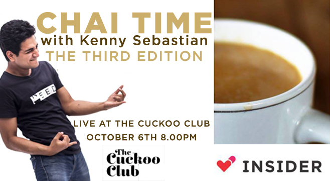 Chai Time with Kenny- The Third One in Mumbai on October 6, 2016