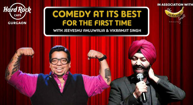 Comedy at its best in Gurgaon on October 11, 2016