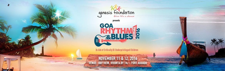 Goa Rhythm and Blues Festival 2016 from November 11-12, 2016