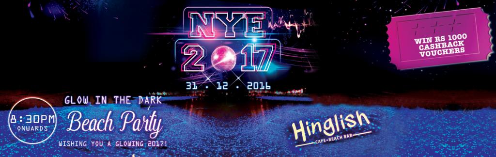 Hinglish NYE 2017 in New Delhi on December 31, 2016