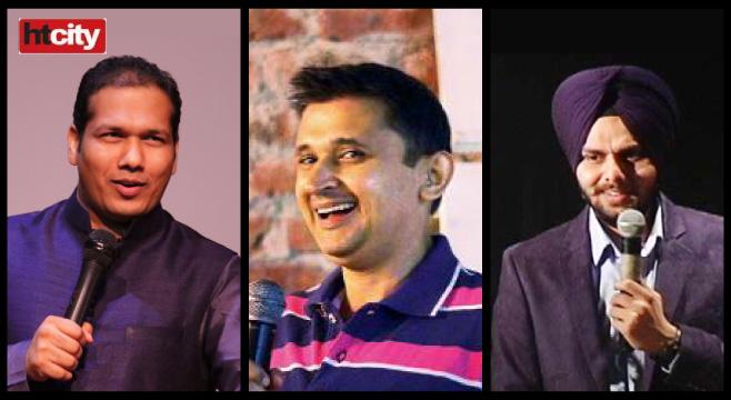 HT City Desi Comedy in New Delhi on January 24, 2016