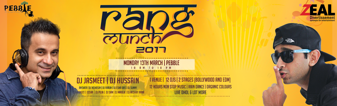 2017 Holi - Rang Munch in Bangalore on March 13, 2017