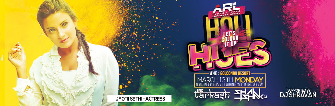 Holi Hues - Holi Party at The Golkonda Resorts in Hyderabad on March 13, 2017