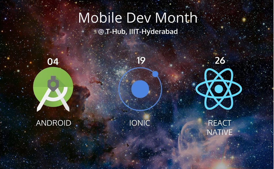 Learn Ionic Framework - Mobile Dev Month in Hyderabad on March 19, 2017