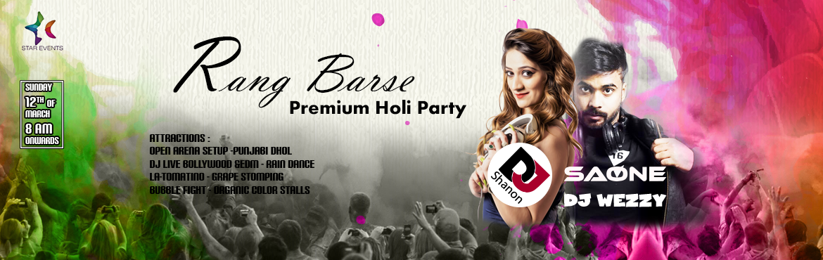 Rang Barse Premium Holi Party At Oyster Lounge in Hyderabad on March 12, 2017