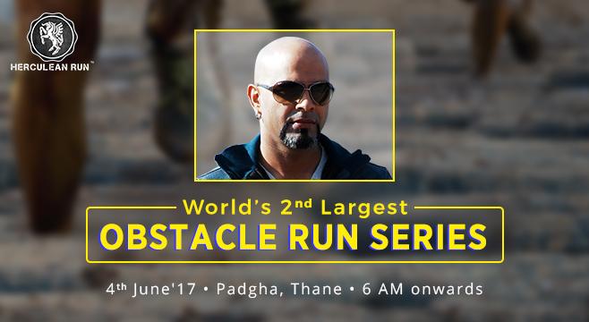 Herculean Run in Thane, Maharashtra on June 4, 2017