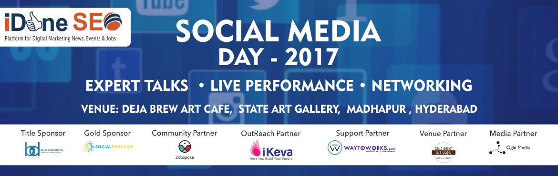 Social Media Day - 2017 in Hyderabad on June 30, 2017