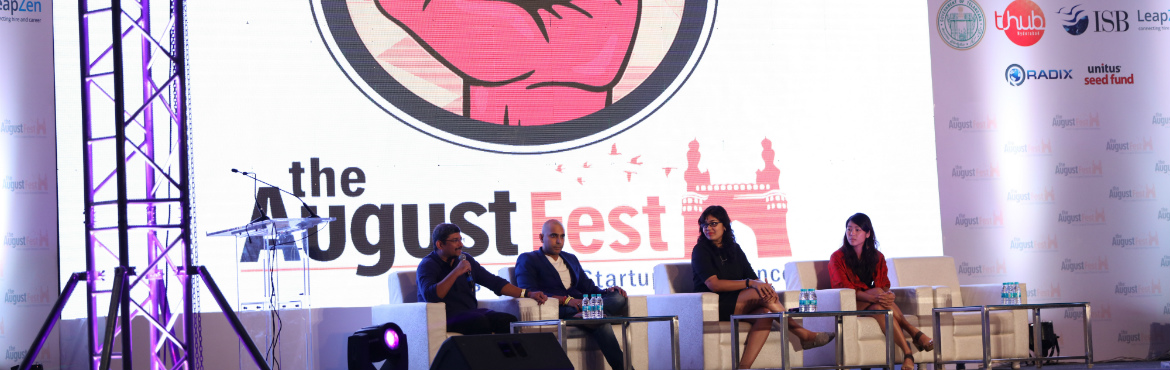Scaleup Festival at The August Fest in Hyderabad on August 26, 2017