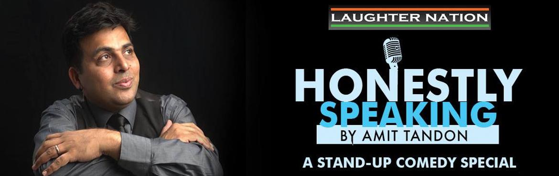 Amit Tandon - Honestly Speaking in Delhi-NCR