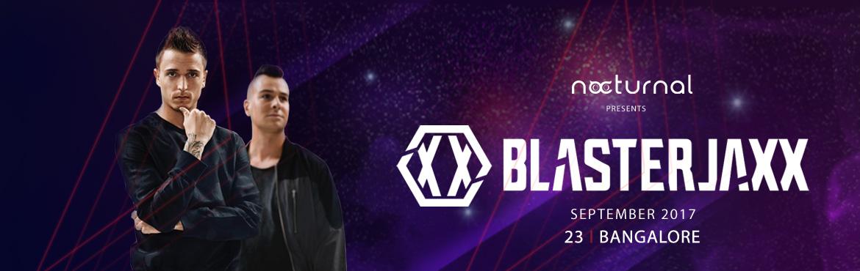 Blasterjaxx in Bangalore from September 23, 2017