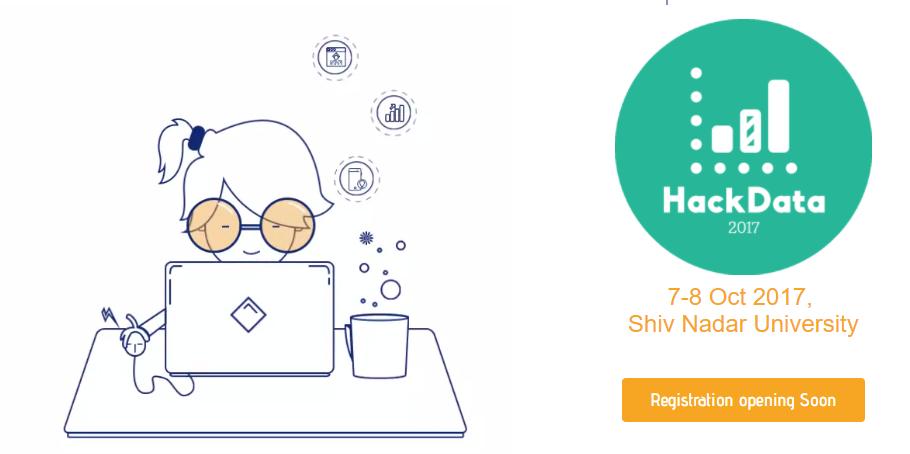 HackData 2017 - Hackathon in Noida from October 7-8, 2017