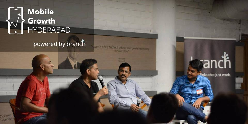 Mobile Growth in Hyderabad w/ Abhibus, Zippr, Quackquack & Branch on September 6, 2017