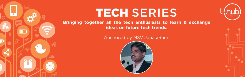 Tech Series V2in T-Hub, Hyderabad on September 19, 2017