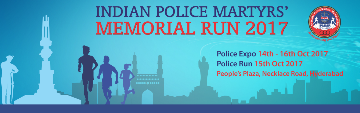 2nd Indian Police Martyrs Memorial Run in Hyderabad on October 15, 2017