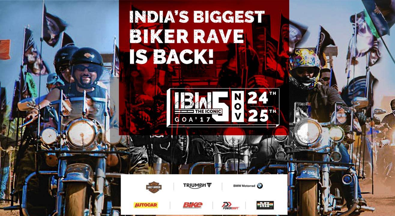 India Bike Week 2017 in Goa from November 24-25, 2017