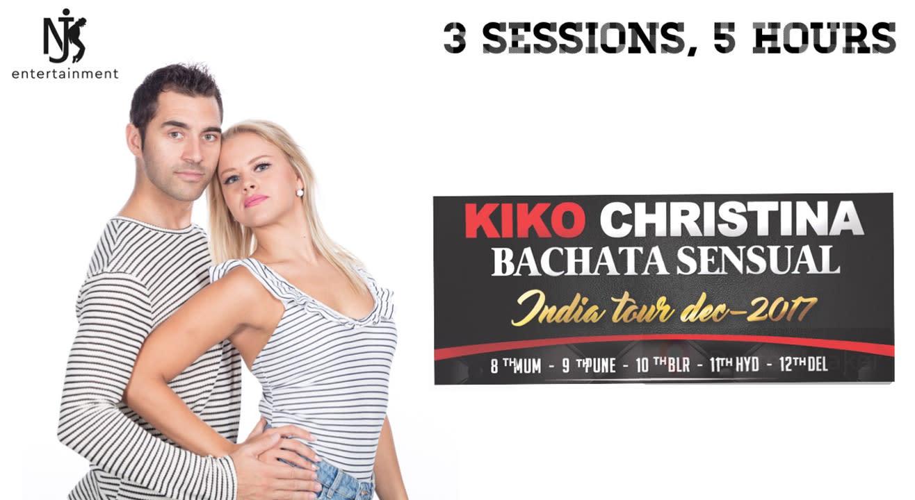 Kiko Christina's Bachata Sensual India Tour in Pune on December 9, 2017