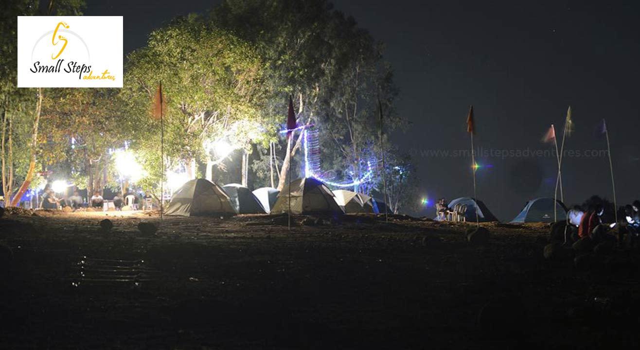 New Year Camping at Pawana Lake, Pune from December 31, 2017 - January 1, 2018