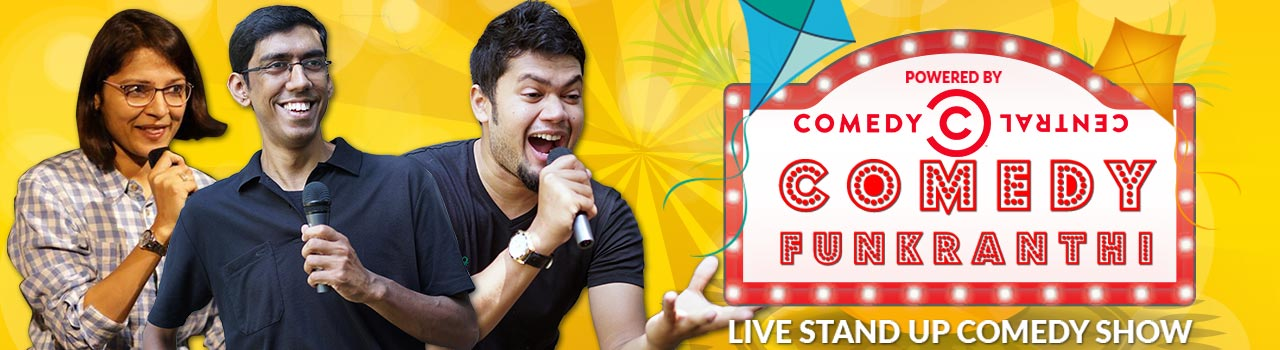 Comedy Funkranthi - Live Stand Up Comedy Show in Hyderabad on January 14, 2018