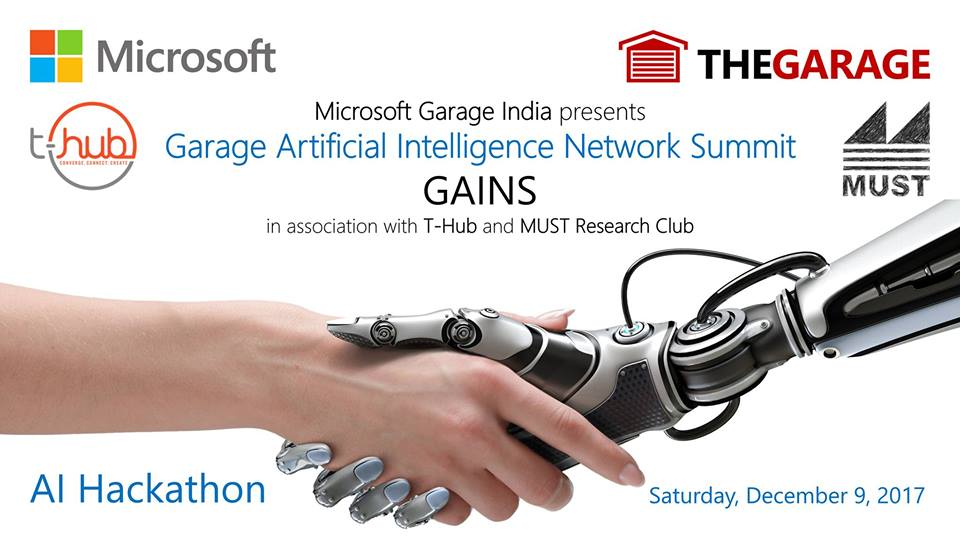 Garage Artificial Intelligence Network Summit in Hyderabad on December 9, 2017