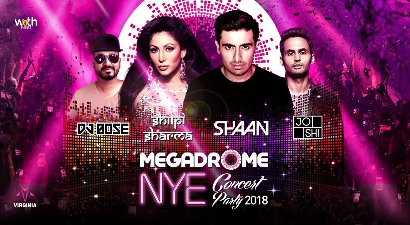 Megadrome NYE 2018 in Bangalore on December 31, 2017