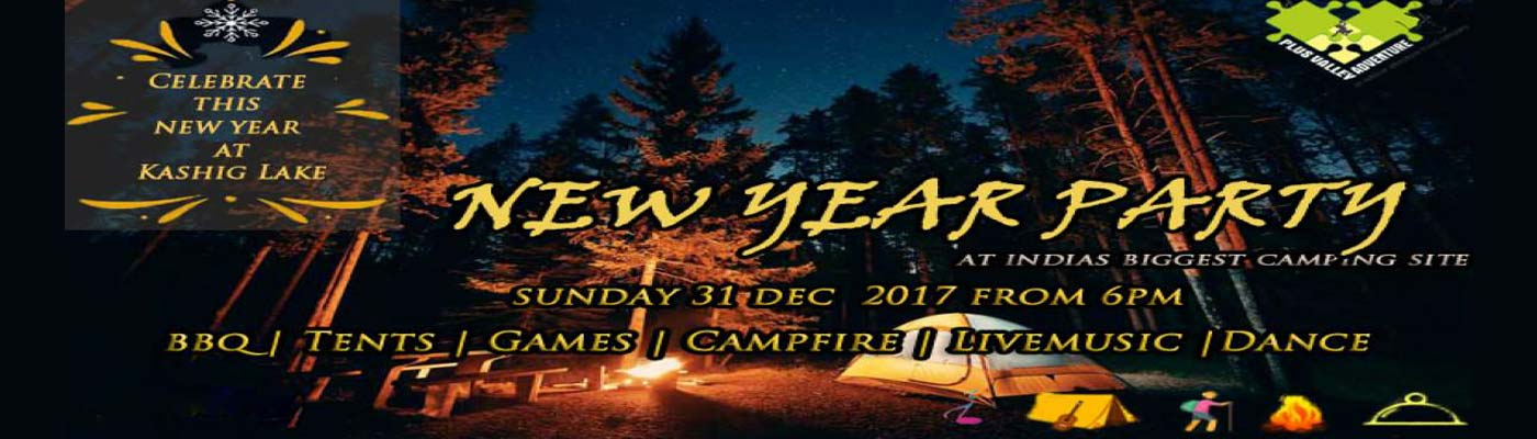 New Year Adventure Camping Event in Pune on December 31, 2017