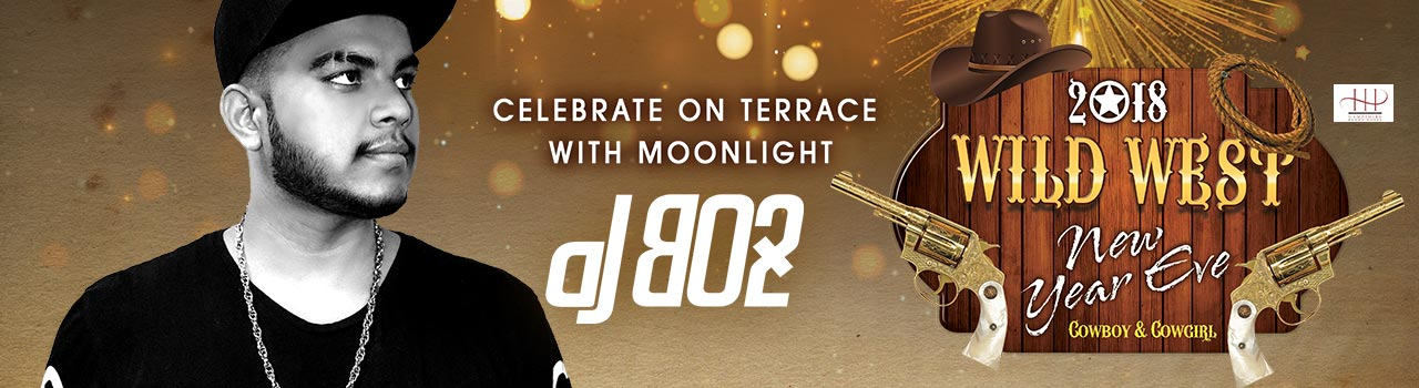 New Year's Eve 2018 with DJ Bo2 in Hyderabad on December 31, 2017