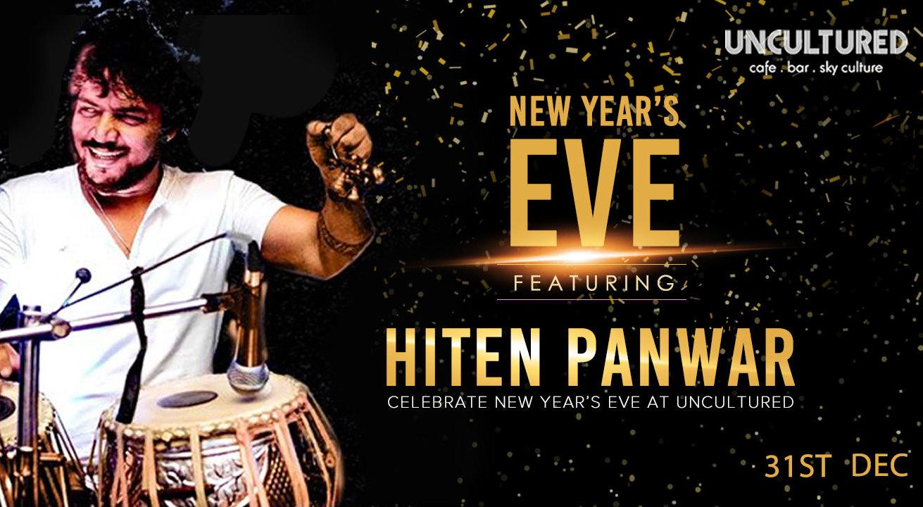 New Year's Eve w/ Hiten Panwar in New Delhi on December 31, 2017