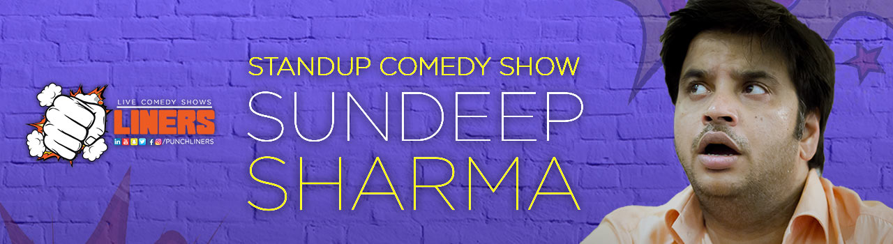 Punchliners: Stand-Up Comedy ft. Sundeep Sharma in Hyderabad on January 14, 2018