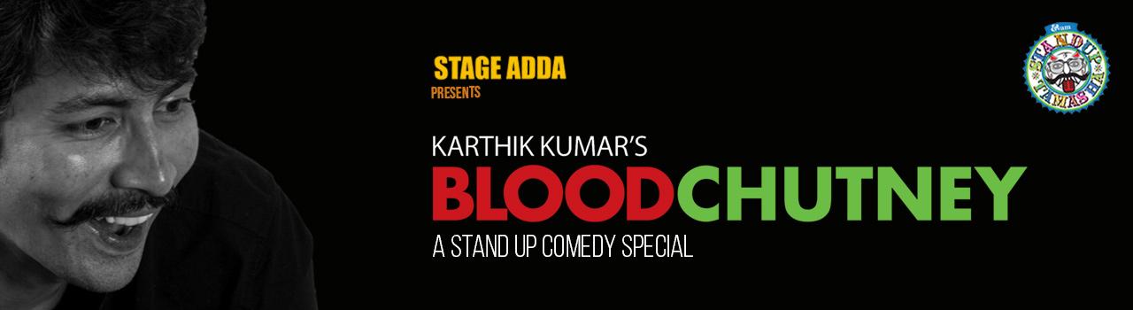 Stage Adda Presents - Karthik Kumar's Blood Chutney in Hyderabad on February 3, 2018