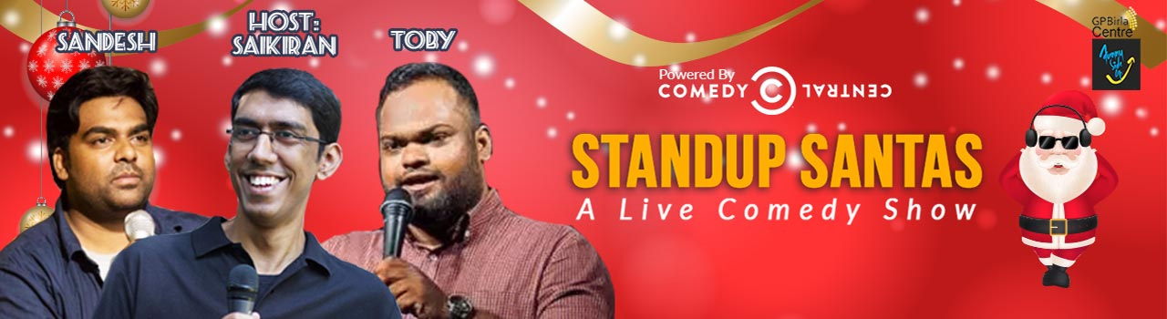 Stand-Up Santas - A Live Comedy Show in Hyderabad on December 24, 2017